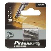 Piranha schroefbitset X61066 T10/15/30 25 mm (3-delig)