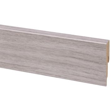 Muurplint zilvergrijs eiken nr. 539 240 cm