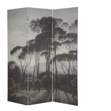 Kamerscherm bomen donkergroen 180 x 150 cm