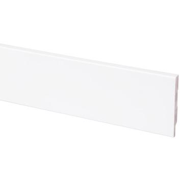 CanDo muurplint grenen blok wit 1294 244 cm