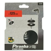 Piranha  steunschijf X32095 rubber 125 mm