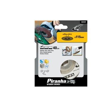 Piranha lamellen schuurschijf X32107 K40 115 mm