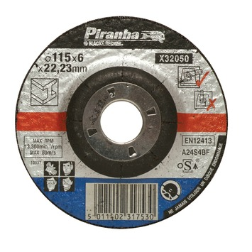Piranha afbraamschijf X32050 6x115 mm