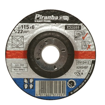 Piranha afbraamschijf X32055 6x125 mm