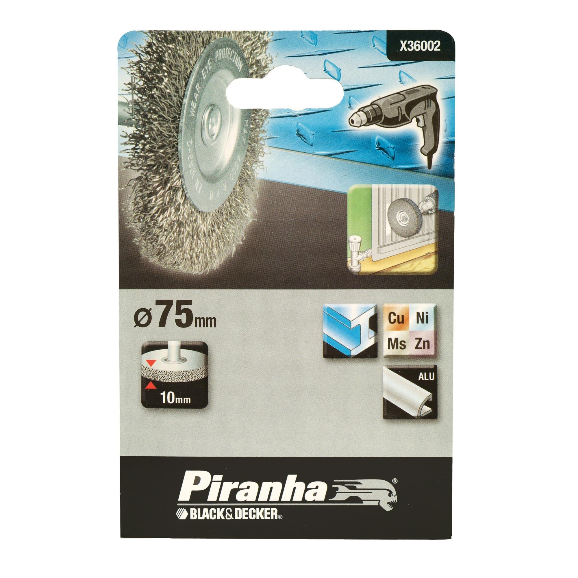 Piranha staaldraadborstel X36002 75 mm voor metaal