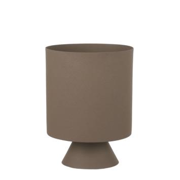 Pot bora rond bruin 23,5 x 18 cm