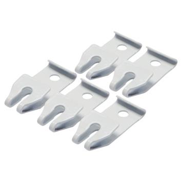 Plafondsteun gordijnrail Plus 5 stuks