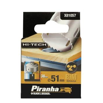 Piranha HI-TECH gatenzaag X81057 BiM 51 mm voor hout en metaal