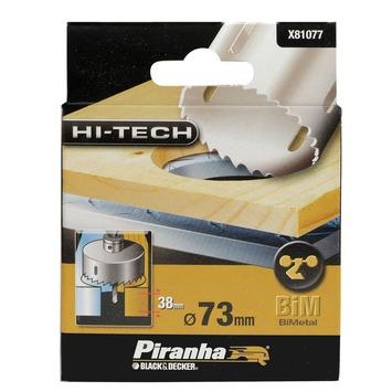 Piranha HI-TECH gatenzaag X81077 BiM 73 mm voor hout en metaal
