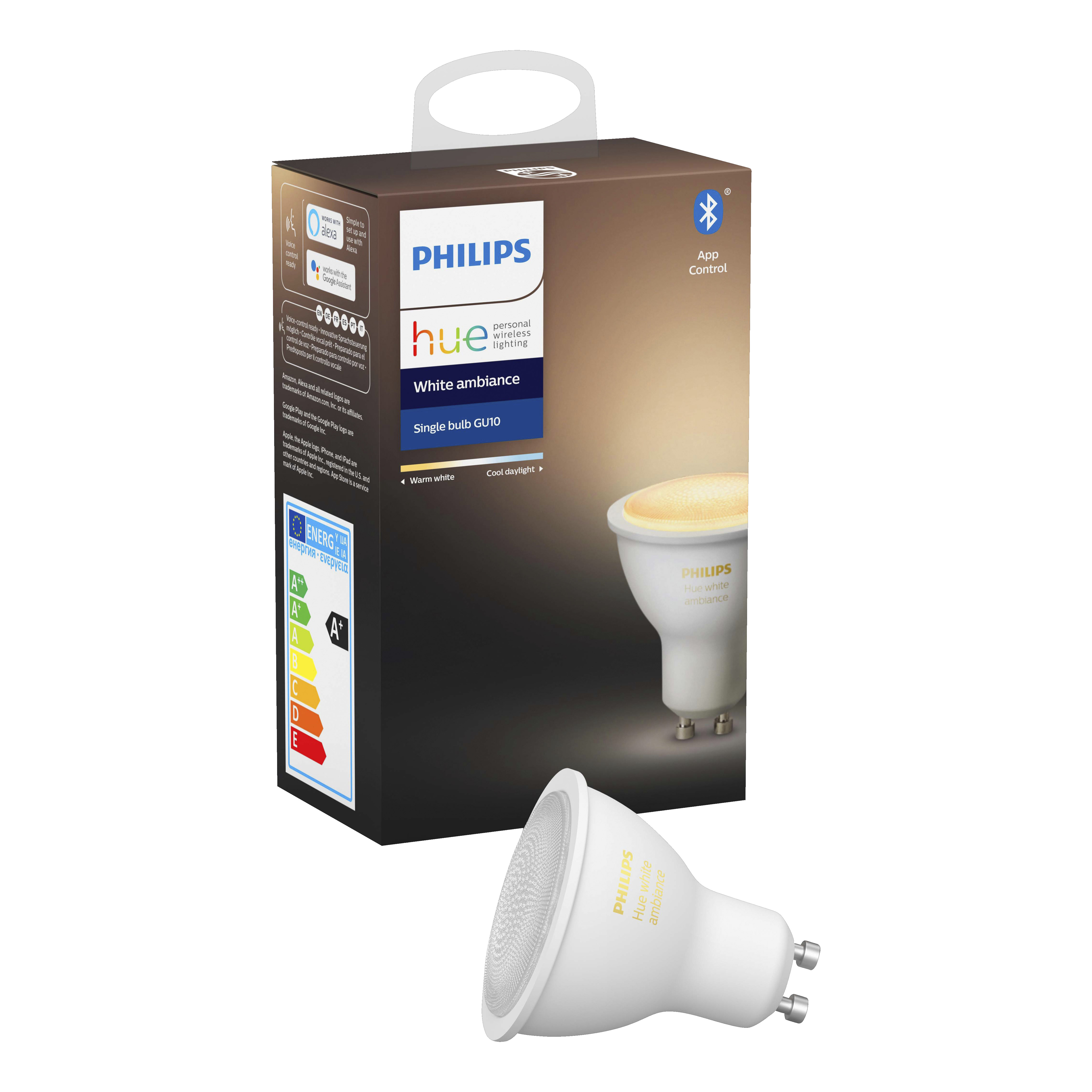 PHILIPS HUE Philips Hue spot warm tot koelwit licht 1-pack