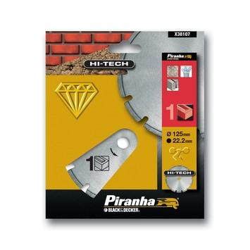 Piranha HI-TECH diamantblad gesegmenteerde rand X38107 125 mm