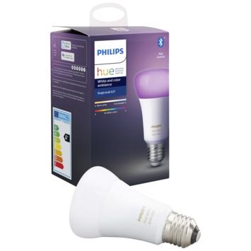 Philips Hue White en Color Ambiance peer E27 met bluetooth