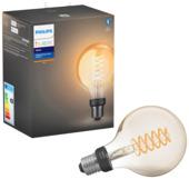 Philips Hue white LED filament Globe E27 met bluetooth
