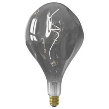 Calex XXL LED lamp Organic E27 6W titanium dimbaar