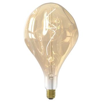 Calex XXL LED lamp Organic E27 6W goud dimbaar
