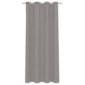 vtwonen kant en klaar gordijn lichtdoorlatend Denim taupe (1251) 140x270 cm
