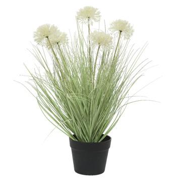 Alliumbloem gras kunstplant