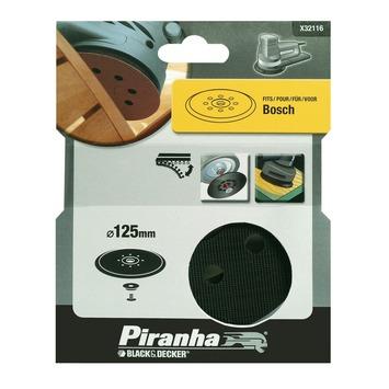 Piranha zool X32116 125 mm voor excentrische schuurmachine