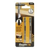 Piranha HI-TECH decoupeerzaagblad X25552 HCS T-schacht (2 stuks) voor hout