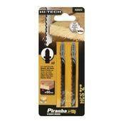 Piranha HI-TECH decoupeerzaagblad X25572 HCS T-schacht (2 stuks) voor hout