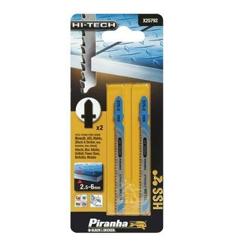 Piranha HI-TECH decoupeerzaagblad X25792 HSS T-schacht (2 stuks) voor metaal