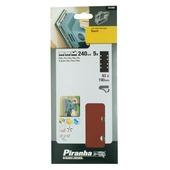 Piranha schuurpapier X31592 K240 187x93 mm (5 stuks)