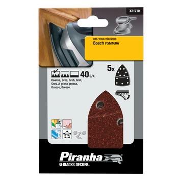 Piranha schuurvel X31710-XJ K40 (5 stuks)