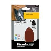 Piranha schuurpapier X31725 K180 (5 stuks)