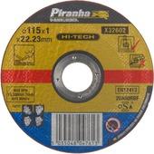 Piranha HI-TECH doorslijpschijf X32602 1x115 mm voor metaal
