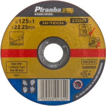 Piranha HI-TECH doorslijpschijf X32607 1x125 mm voor metaal