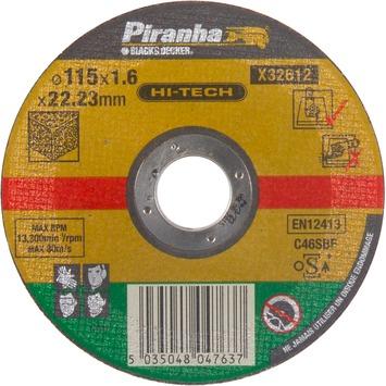 Piranha HI-TECH doorslijpschijf X32612 1,6x115 mm voor steen