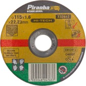 Piranha HI-TECH doorslijpschijf X32612 1,6x115 mm voor steen