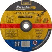 Piranha HI-TECH doorslijpschijf X32687 1,8x230 mm voor rvs