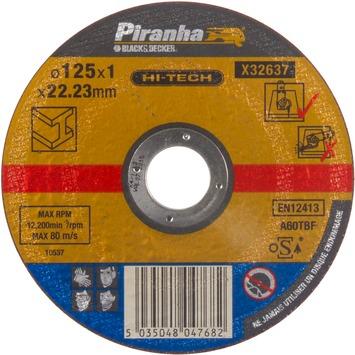 Piranha HI-TECH doorslijpschijf X32637 1x115 mm voor metaal