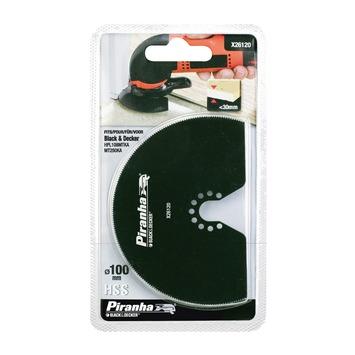 Piranha segmentzaagblad X26120 HMM 100 mm voor B&D MT250/MT300
