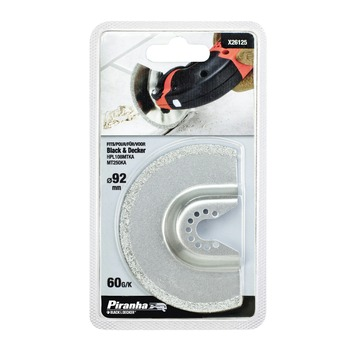 Piranha segmentzaagblad X26125 HM 92 mm voor B&D MT250/MT300