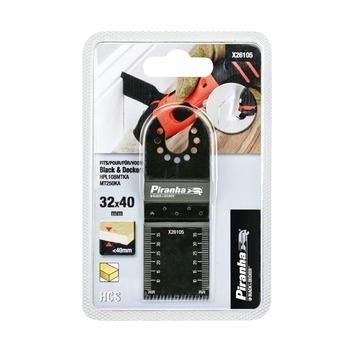 Piranha invalzaagblad X26105 HCS 32 mm voor B&D HPL108MTKA en MT250KA