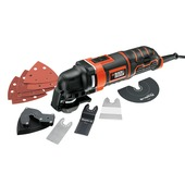 Black & Decker oscillerende multitool MT300KA-QS