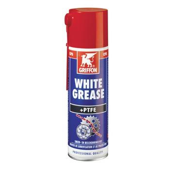 Griffon white grease met PTFE spuitbus 300 ml