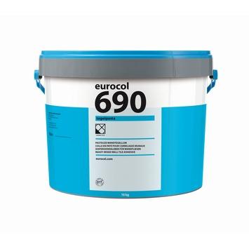 Eurocol 690 pasta tegellijm gebroken wit 16 kg