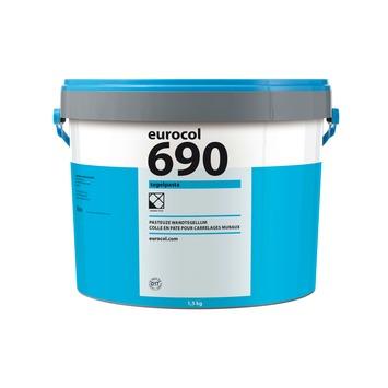 Eurocol 690 pasta tegellijm gebroken wit 1,5 kg