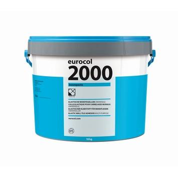 Eurocol 2000 bouwpasta / tegellijm 18kg