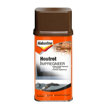 Alabastine houtrotvuller houtrotstop 250 ml