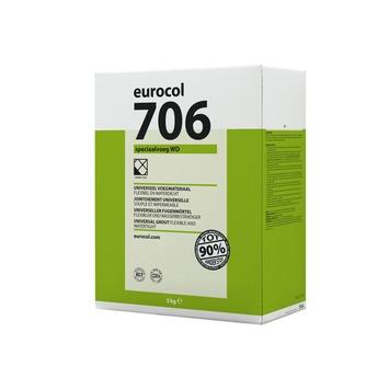 Eurocol 706 speciaal voegmortel antraciet 5kg
