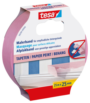 Tesa afplaktape precision sensitive 25mx25mm