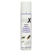 HG X spray tegen kruipend ongedierte en wespen 400ml