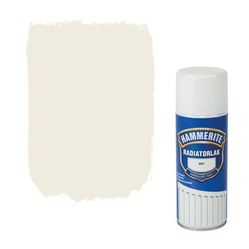 Hammerite radiatorlak spuitlak hoogglans wit 400 ml