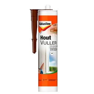 Alabastine houtvuller koker wit 303 ml