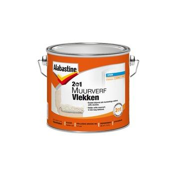 Alabastine 2in1 muurverf vlekken 2,5 l