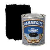 Hammerite Direct AluZinc metaallak zwart 750 ml